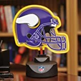 NFL Neon Helmet Desk Lamp, VIKINGS