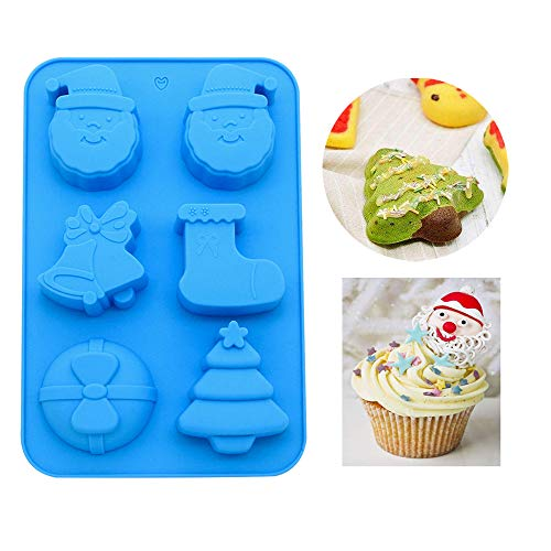 (Silicone molds,LKE Muffin Pan Halloween Limited Edition cupcakes liners Nonstick silicone pans baking Mold for Jello/Cookie/Chocolate/Candy)