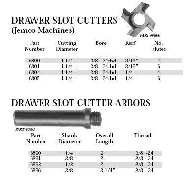 whiteside slot cutter - 1