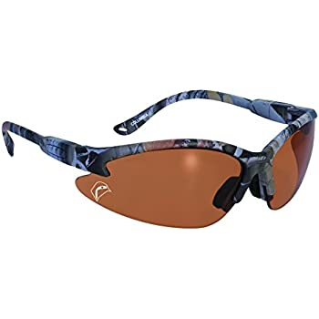 ca1fd51b6510 SSP Eyewear Sportsman Glasses with Camo Frames and Belgium Bronze Anti-Fog  Lenses, BULLCAMO BB A/F