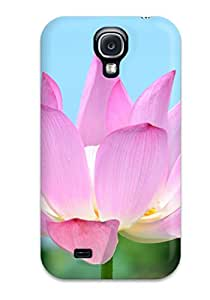 2731339K88775394 New Cute Funny Lotus Flower Case Cover/ Galaxy S4 Case Cover