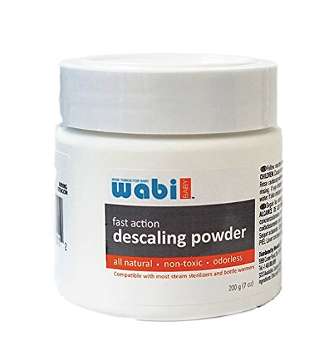 'Wabi Baby Fast-Action Descaling Powder for Bottle Steam Sterilizer and warmers' from the web at 'https://images-na.ssl-images-amazon.com/images/I/419Hla2gXNL.jpg'