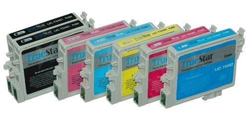 Generic Compatible Ink Cartridge Replacement for Epson T048 (2xBlack, 1xCyan, 1xMagenta, 1xYellow, 1xPhoto Cyan, 1xPhoto Magenta)