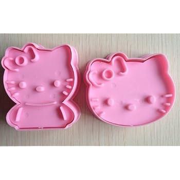 Amazoncom niceEshopTM 1Set Hello Kitty Cookie Cutter Cake