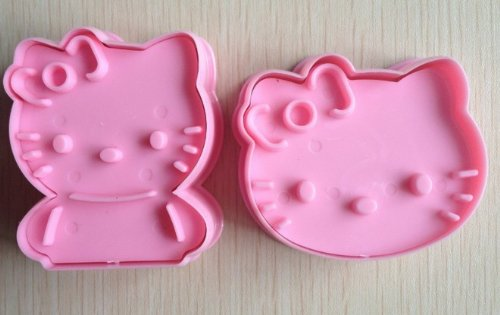 DM c001 Hello Kitty Cookie Cutter Cake Mould Mold-Pink, M]()