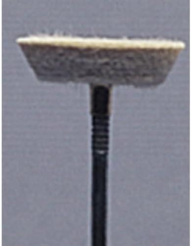 Mounted Felt Bob, Large Inverted Cone Shape, 3/32 Inch | BUF-512.07