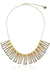 """House of Harlow 1960 Trapezio Collar Necklace, 18"""""""