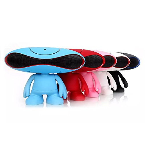 1015body Portable Bluetooth Speaker Includes a Cute Alien Looking Compatible with Smartphonesc Tablets and Mp3 Players with Bluetooth Capability Five Kinds of Color