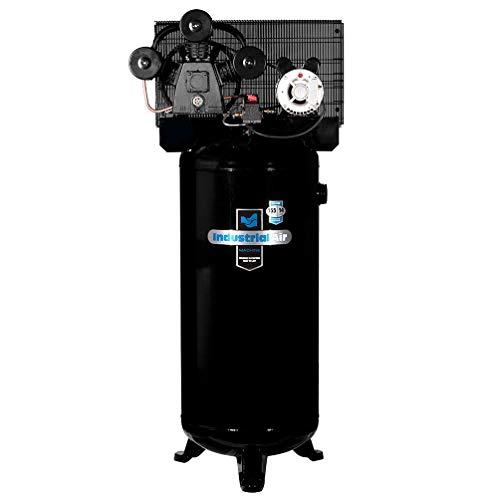 - Industrial Air ILA4546065 60-Gallon Hi-Flo Single Stage Cast Iron Three Cylinder Air Compressor