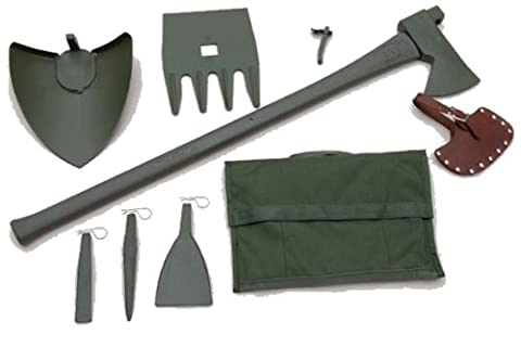 U.S. made MAX AX MILITARY VEHICLE RECOVERY KIT (MILITARY-GRADE) - NSN 5120-01-416-8568 (4X4 OFF-ROAD (Max Axe Tool)