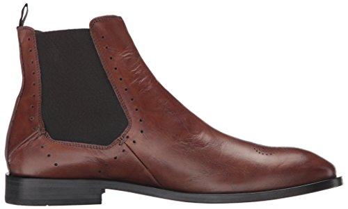 Bacco Bucci Uomo Fabri Chelsea Boot Dark Tan
