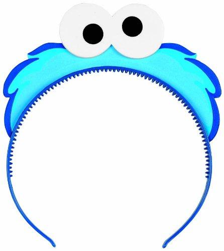 Sesame Street 1st Birthday Party Headbands (Cookie Monster Headband)