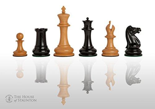 The House of Staunton The Original 1849 Luxury Staunton Chess Set - Pieces Only - 4.4