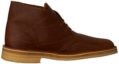 Clarks Originali Mens Desert Boot Tan Pelle Martellata