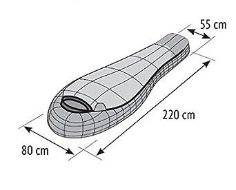 ALEXIKA 9223.0105R Mountain Compact - Saco de dormir (cremallera en ...