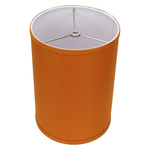 FenchelShades.com 8'' Top Diameter x 8'' Bottom Diameter 11'' Height Cylinder Drum Lampshade USA Made (Cedar) by FenchelShades.com