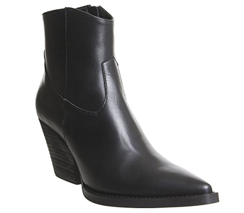 Office Western Extreme Leather Black Boots Arriba wqwECvr