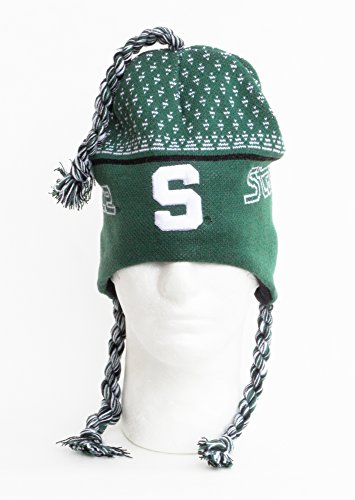 NCAA Michigan State Spartans Toboggan Knit Hat, One Size, Green ()