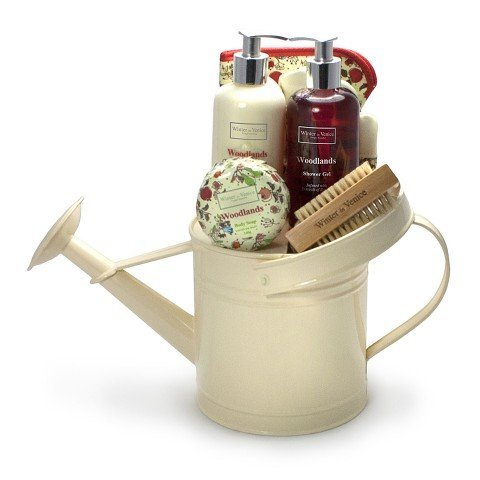 Gift Set Woodlands in Watering Can- Skin Care Nourishing by Winter in Venice