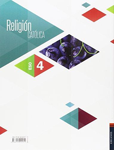 Religión Católica 4ª ESO (Agape) - 9788414004531