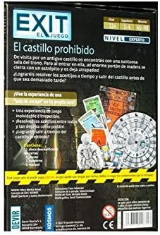 Devir - Exit: El castillo prohibido, Ed. Español (BGEXIT4): Amazon ...