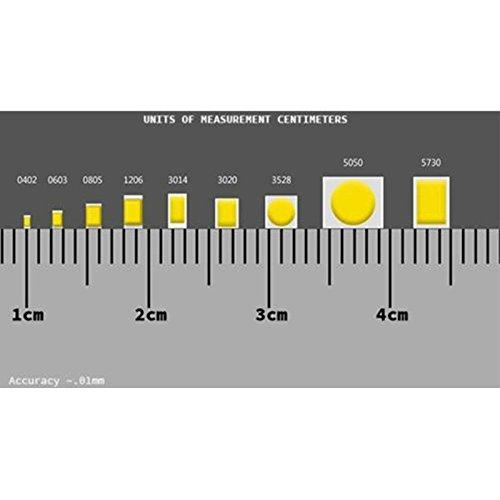 Lighthouse LEDs 12v 0402 Pico SMD Wide Angle Pre-Wired Red LED - Ultra Bright (10v, 11v, 12v, 13v, 14v, 15v, 16v, 17v, 18v) (Pack of 50) by Lighthouse LEDs (Image #3)