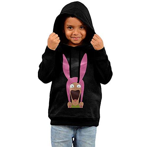 [RTRY Kid's Bob's Burgers Unisex Sweatshirt Black Size 2 Toddler] (Good Burger Movie Costume)