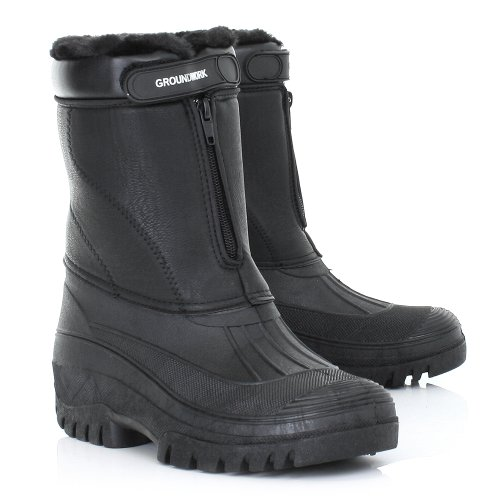 Mens Warm SIZE Garden Work 11 Boots Wellies Mucker wxRqw7a