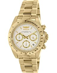 Invicta Mens 7030 Signature Collection Speedway Gold-Tone Chronograph Watch