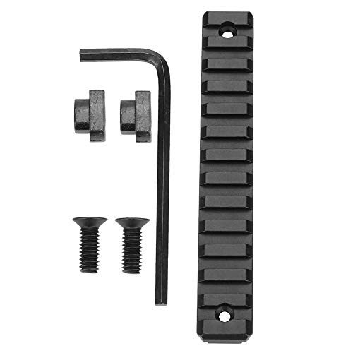 (Delaman M-LOK Rail Section 3/5/9/11/13 Slot Metal Picatinny/Weaver Rail, Aluminum Alloy (Size : 13-Slot))