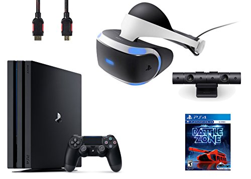 PlayStation-VR-Bundle-4-ItemsVR-HeadsetPlaystation-CameraPlayStation-4-Pro-1TBVR-Game-Disc-PSVR-Battlezone