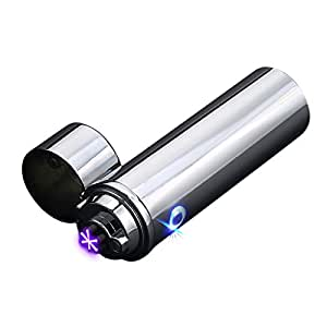 Saberlight Sparq XL Cigar Lighter - Triple Arc Plasma Beam Lighter - Rechargeable - Windproof - Butane Free - Plasma Torch - More Powerful