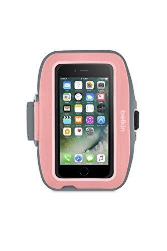 Belkin Sport-Fit Plus Armband for iPhone 7 Plus and iPhone 8 Plus (Carnation)