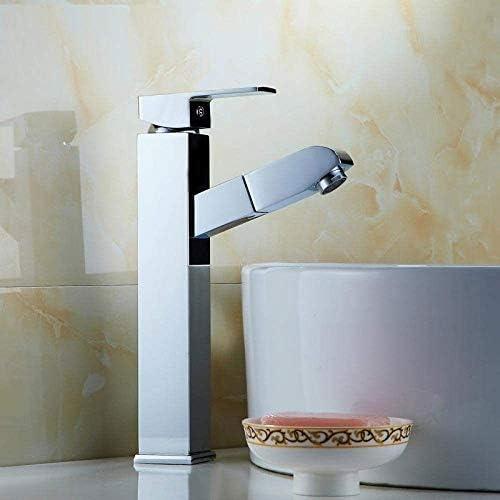 引き出し無料キッチンのシンクの蛇口、浴室の洗面台の蛇口、ホットとコールドコントロール、キッチンバスルームに適してストレッチ