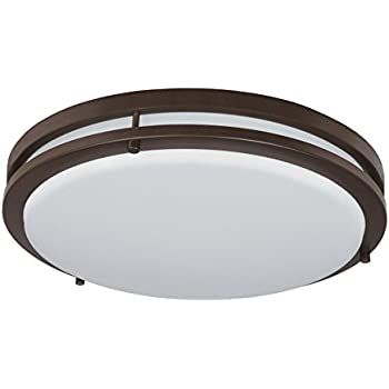 Designers fountain ev1416l30 34 low profile led ceiling light16oil lb72147 led flush mount ceiling light oil rubbed bronze 18 inch 28w mozeypictures Images