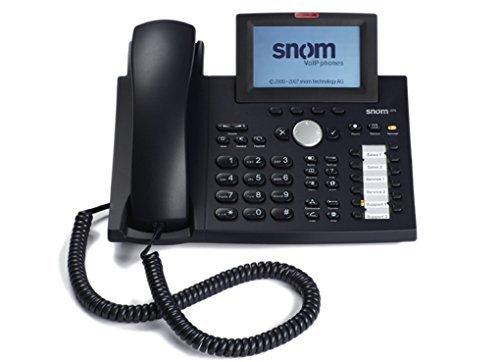 SNOM 370 IP Telephone Black (Refurbished) 00041326A13A