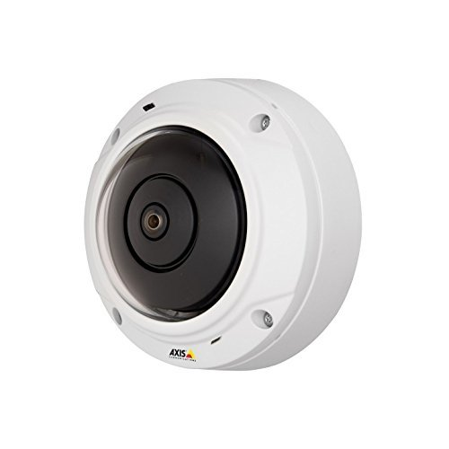 AXIS 0556-001 M3027-PVE Outdoor-Ready Fixed Mini-Dome Camera, Panoramic Views