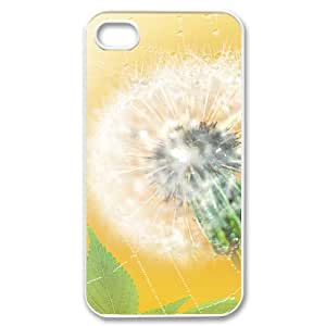 Dandelion Customized Cover Case for Iphone 4,4S,custom phone case ygtg515563