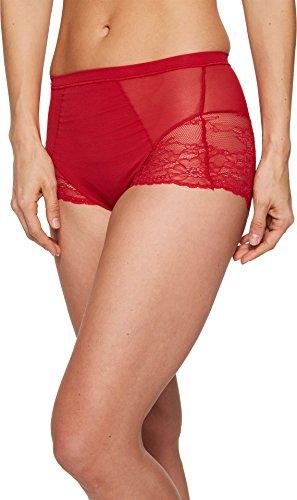 SPANX Women's Spotlight on Lace Brief Red Pop Medium (Spanx Cotton)