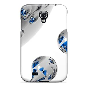 New Style Leontyle4562 Spherical White 3d Premium Tpu Covers Cases For Galaxy S4