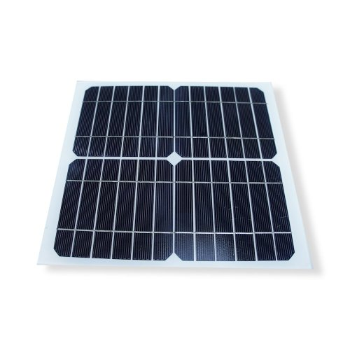 Frameless 10W Monocrystalline Solar Panel with Durable Tempered Glass (Green With Roof Panels Solar)
