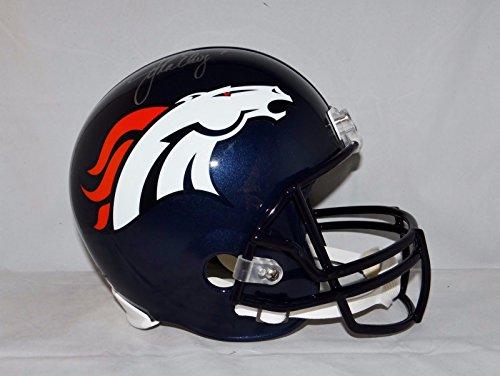 John Elway Autographed Helmet - John Elway Autographed F/S Denver Broncos Helmet- JSA W Authenticated