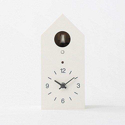 無印良品 鳩時計 掛置時計ホワイト B01ETQJWE0