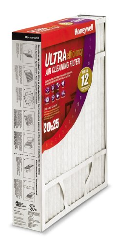 honeywell 25x20x4 furnace filter - 2