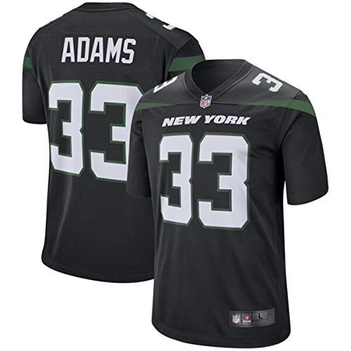 Men's #33 Jamal Adams New York Jets Game Jersey Black