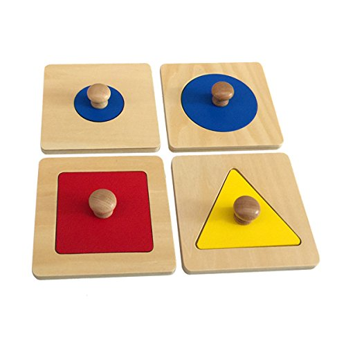 Montessori Single Shape Puzzles