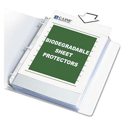 C-Line Sheet Protectors, Clear, Polypropylene, 11 x 8 1/2, 100/BX