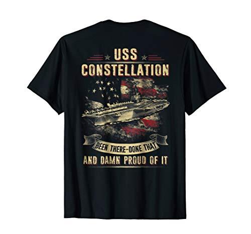 (Navy USS Constellation (CV-64) T-shirt )