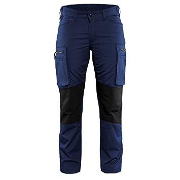 """cb3f44625d4 'blakläder Mujer Pantalones de trabajo de servicio""""Stretch Tamaño C30  en color azul marino"""