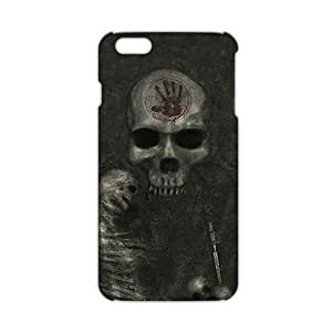 Evil-Store Scary skull 3D Phone Case for iPhone 6 plus